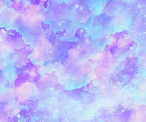 wallpaper, blue, and clouds image
