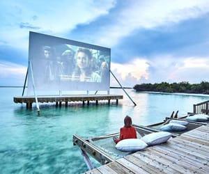 travel, beach, and movie image