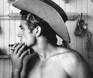 james dean, cowboy, and vintage image