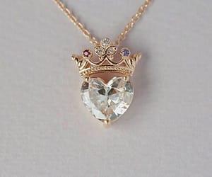 coroa, heart, and diamante image