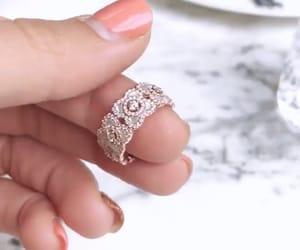 diamond, jewelry, and manicure image