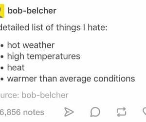 dislike, me, and temperature image