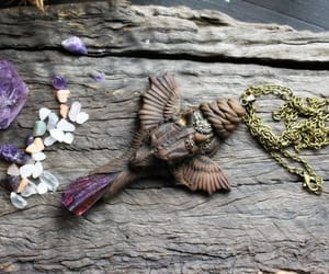 etsy, mythical, and gemstone necklace image