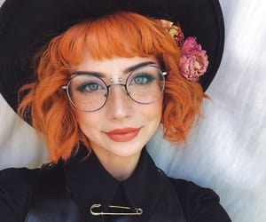 hair, colourful hair, and beautiful colored hair image