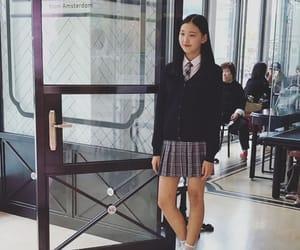 girl, seoul, and kfashion image