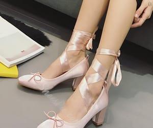 ballerina, ballet, and heels image