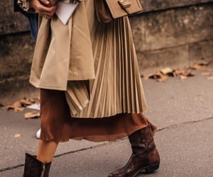 autumn colors, beige, and boots image