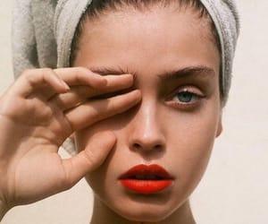 girl, fashion, and makeup image
