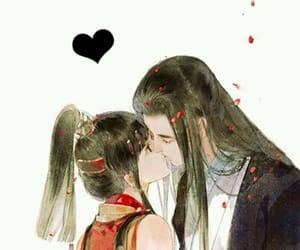 background, girl, and kawaii image