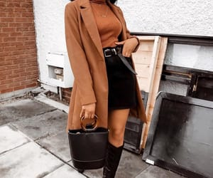 belt, boots, and coat image