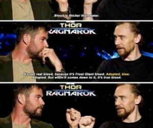 blood, tom hiddleston, and loki laufeyson image
