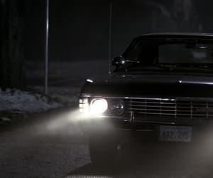 black, supernatural, and tv series image