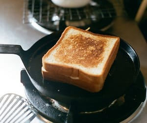 food, toast, and breakfast image