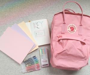 pink, kanken, and pastel image