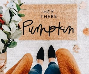 fall, pumpkin, and october image