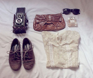 girl, vintage, and outfit image