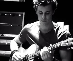 black and white, shawn mendes, and gif image