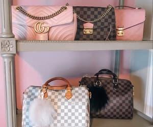 bag, girly, and fashion image