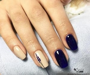 manicure, nails, and nailart image