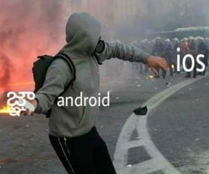 android, meme, and funny image