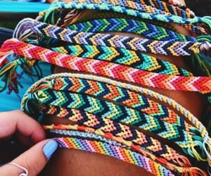bracelet, summer, and friendship image