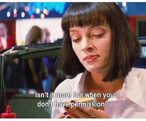 quotes, pulp fiction, and fun image