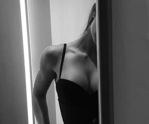 black and white and body image