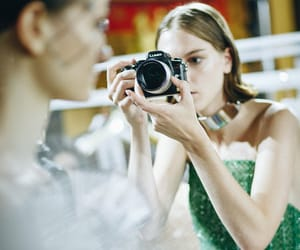 backstage, details, and french model image