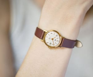 etsy, gold woman watch, and unique lady watch image