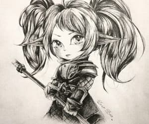 lol, poppy, and league of legends image