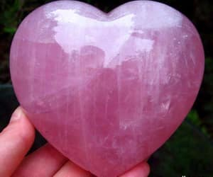 heart and rose quartz image