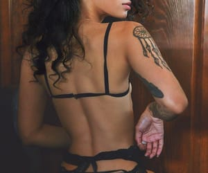 ass, style, and tattoo image