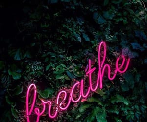 breathe, pink, and wallpaper image