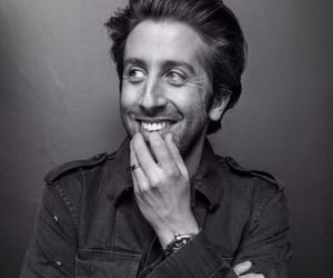 actor, black & white, and simon helberg image