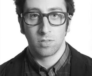 actor, glasses, and simon helberg image