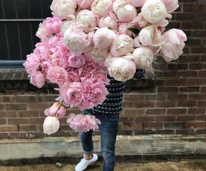 boy, flowers, and romance image