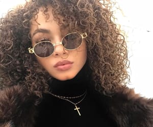 beauty, hair, and curls image
