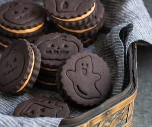 food, Halloween, and Cookies image