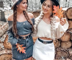 fall, girl, and goals image