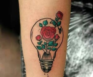 Tattoos, roses, and tatto image