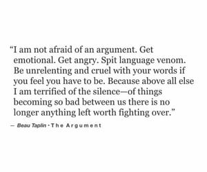 angry, fighting, and quotes image