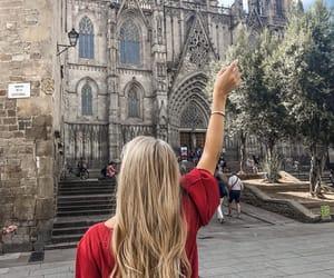 Barcelona, blonde, and barcelonacity image