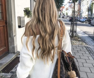blonde, fashion, and hairs image