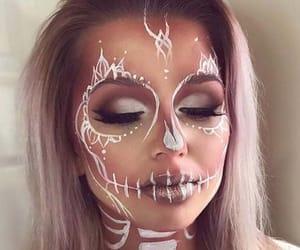 makeup, Halloween, and ideas image