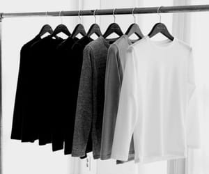fashion, white, and black image