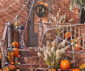 autumn, pumpkins, and decor image