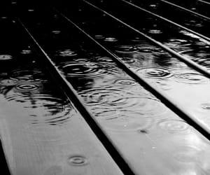 rain, black, and blackandwhite image