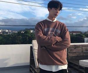 attractive, korean, and men image