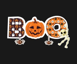 autumn, boo, and october image