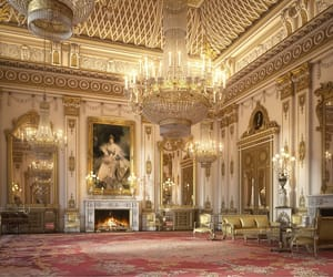 architecture, Buckingham palace, and interior image
